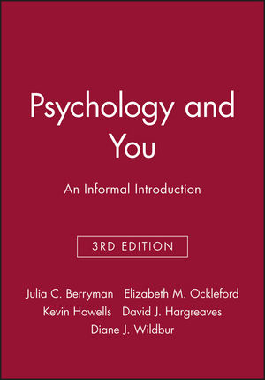 Psychology and You: An Informal Introduction, 3rd Edition