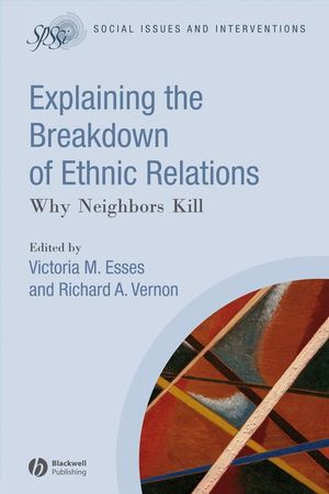 Explaining the Breakdown of Ethnic Relations (1405170581) cover image