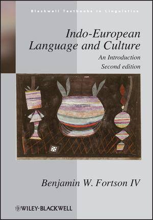 Indo-European Language and Culture: An Introduction, 2nd Edition (1444359681) cover image