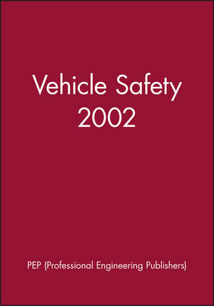Vehicle Safety 2002 (1860583881) cover image
