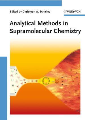 Analytical Methods in Supramolecular Chemistry