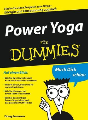 Power Yoga für Dummies (3527657681) cover image