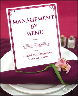 Management by Menu, 4th Edition (EHEP000481) cover image