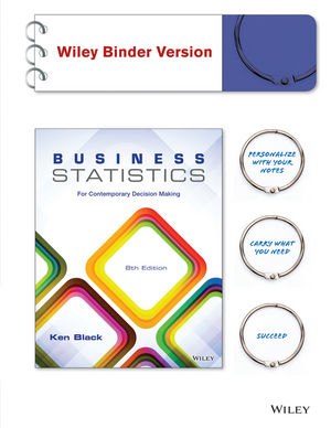 Business Statistics: For Contemporary Decision Making, 8th Edition (EHEP002881) cover image