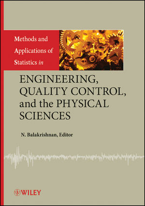 Methods and Applications of Statistics in Engineering, Quality Control, and the Physical Sciences (0470405082) cover image