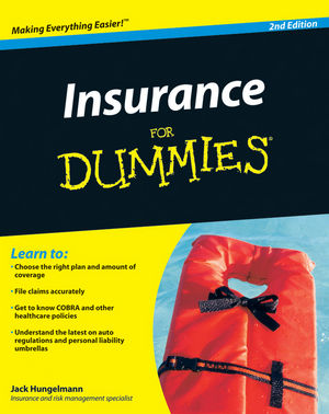 Insurance For Dummies 2nd Edition Wiley