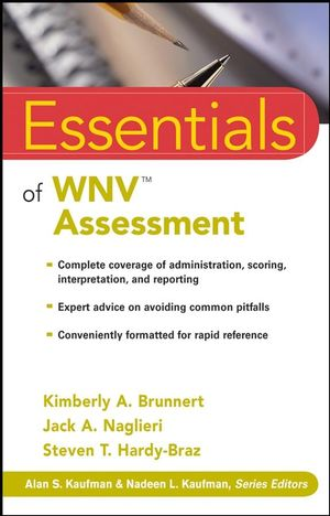 Essentials of WNV Assessment (0470467282) cover image
