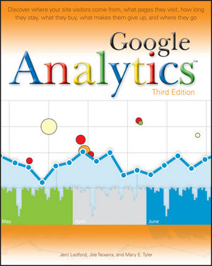 Google Analytics, 3rd Edition (0470531282) cover image