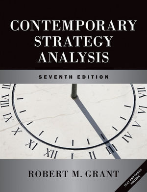 Contemporary Strategy Analysis and Cases: Text and Cases, 7th Edition (0470620382) cover image