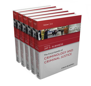 The Encyclopedia of Criminology and Criminal Justice (0470670282) cover image