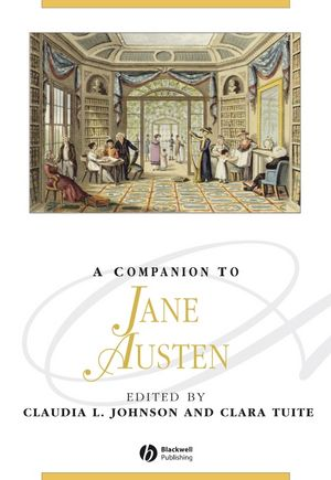 A Companion to Jane Austen (0470672382) cover image