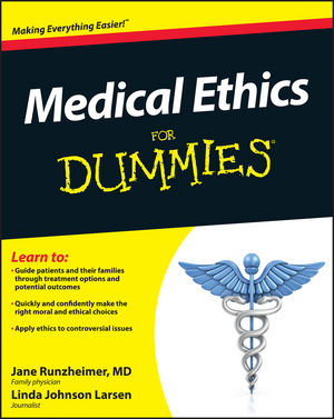 Medical Ethics For Dummies (0470946482) cover image