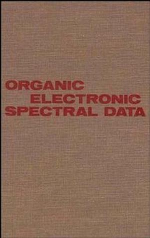 Organic Electronic Spectral Data, Volume 28, 1986
