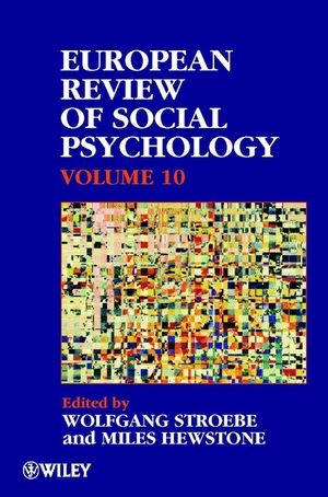 European Review of Social Psychology, Volume 10