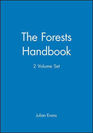 The Forests Handbook, 2 Volume Set (0632048182) cover image