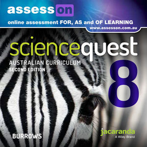 Assesson Science Quest 8 Australian Curriculum Edition 2E (Online Purchase)