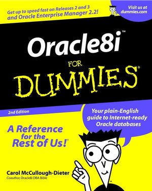 Oracle8i For Dummies, 2nd Edition