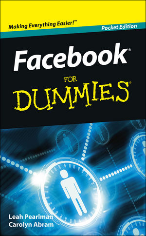 Facebook For Dummies, Pocket Edition, Pocket Edition (1118037782) cover image