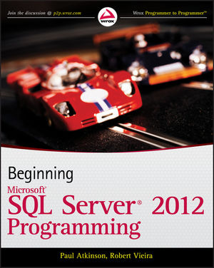 Beginning Microsoft SQL Server 2012 Programming (1118102282) cover image