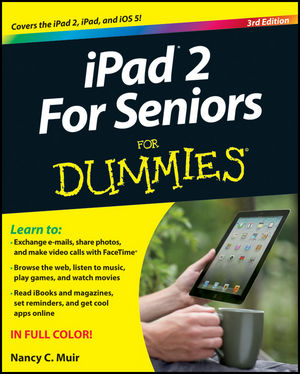 iPad 2 For Seniors For Dummies, 3rd Edition (1118176782) cover image