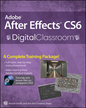 After Effects Cs6 Classroom In A Book License