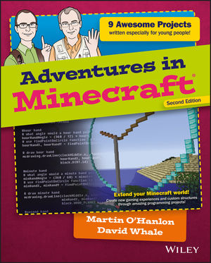 Adventures in Minecraft, 2nd Edition (1119439582) cover image