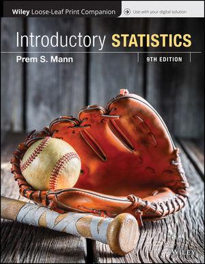 Introductory Statistics, Loose-Leaf Print Companion, 9th Edition