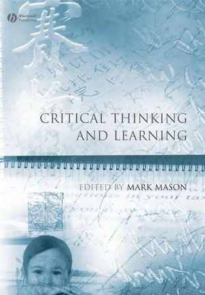 Critical Thinking and Learning (1444306782) cover image