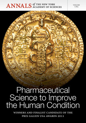 Pharmaceutical <span class='search-highlight'>Science</span> to Improve the Human Condition: Prix Galien 2011, Volume 1263