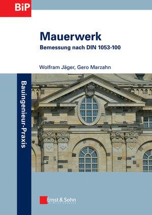 Mauerwerk: Bemessung nach DIN 1053-100 (3433601682) cover image