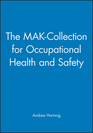 The MAK-Collection for Occupational Health and Safety (3527323082) cover image