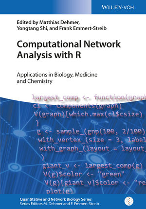 Computational Network Analysis with R: Applications in Biology, Medicine and Chemistry (3527339582) cover image