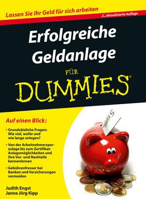 Erfolgreiche Geldanlage für Dummies, 2. Auflage