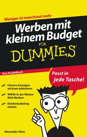 Werben mit kleinem Budget für Dummies, Das Pocketbuch