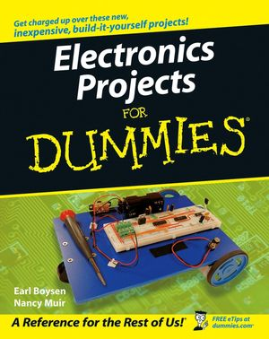 Electronics Projects For Dummies:Book Information - For Dummies