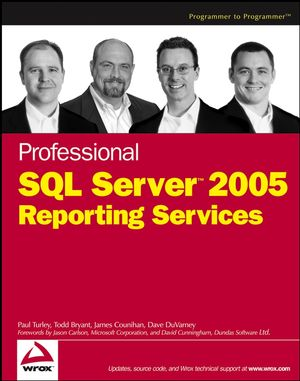 Professional SQL Server 2005 Reporting Services (0470039183) cover image
