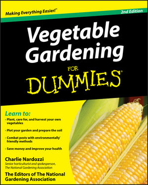Vegetable Gardening For Dummies, 2nd Edition (0470555483) cover image
