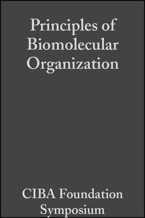 Principles of Biomolecular Organization