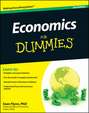 Economics For Dummies, 2nd Edition (0470879483) cover image