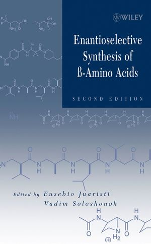 Enantioselective Synthesis of Beta-Amino Acids, 2nd Edition (0471467383) cover image