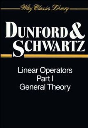 Linear Operators, Part 1: General Theory