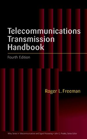Telecommunications Transmission Handbook, 4th Edition (0471672483) cover image
