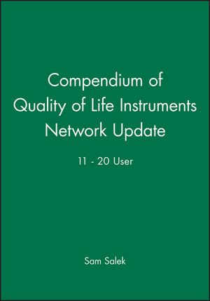 Compendium of Quality of Life Instruments Network Update 11 - 20 User