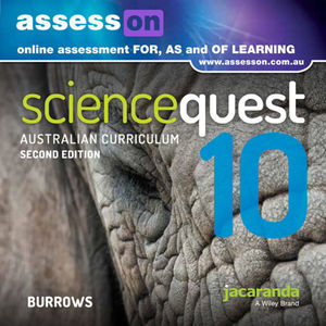 Assesson Science Quest 10 Australian Curriculum Edition 2E (Online Purchase)