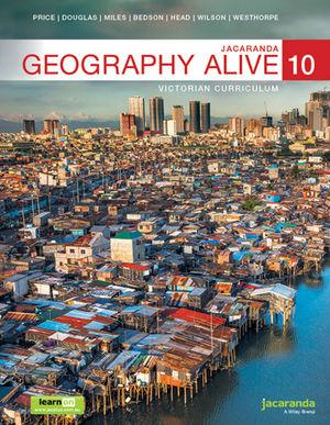 Jacaranda Geography Alive 10 Victorian Curriculum LearnON & Print