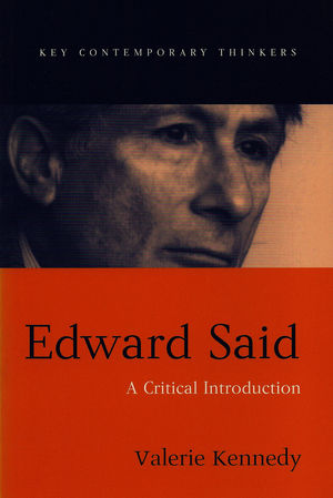 Edward Said: A Critical Introduction (0745620183) cover image