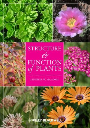 Structure and Function of Plants (0813827183) cover image