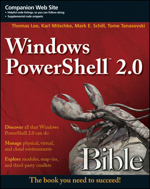 Windows PowerShell 2.0 Bible (1118021983) cover image