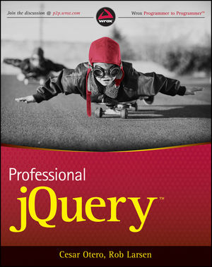 Professional jQuery (1118026683) cover image