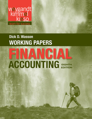 Financial Accounting, Working Papers , 8th Edition (1118102983) cover image